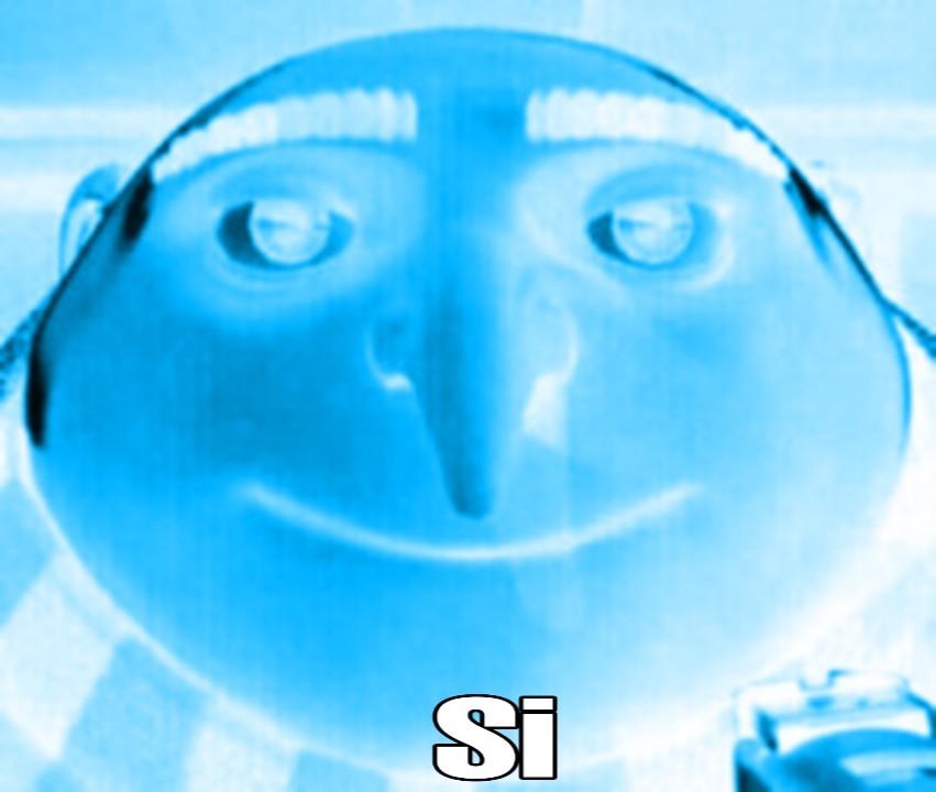 """Plantilla Gru """"Si"""" - meme"""