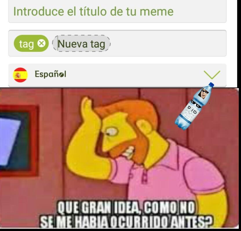TAG - meme