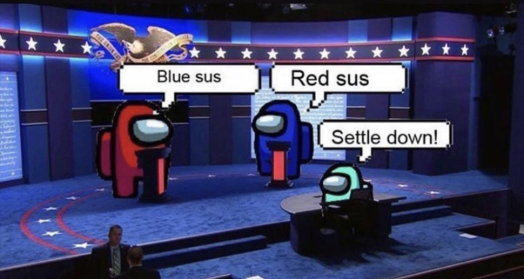I didn't see the debate how'd it go? - meme