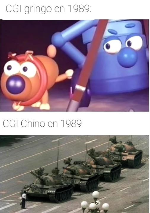 Unos capos lo chinos - meme
