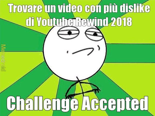 Quel video ha 19 milioni di dislike - meme