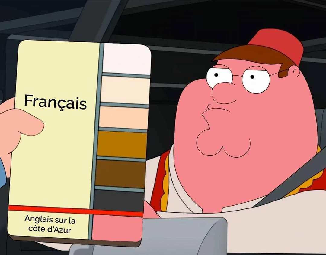 Ou les belges après une victoire de l'équipe de France. Crédit : memes décentralisées