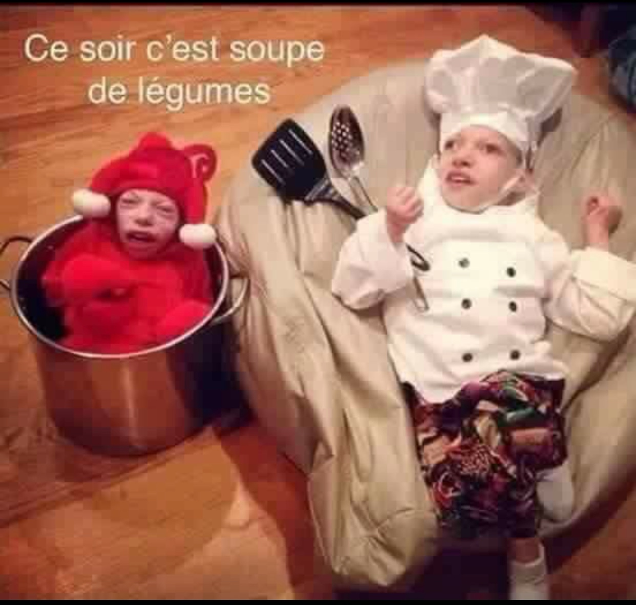 d'la bonne soupe !  - meme