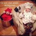 d'la bonne soupe !