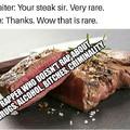 The most rare occasion