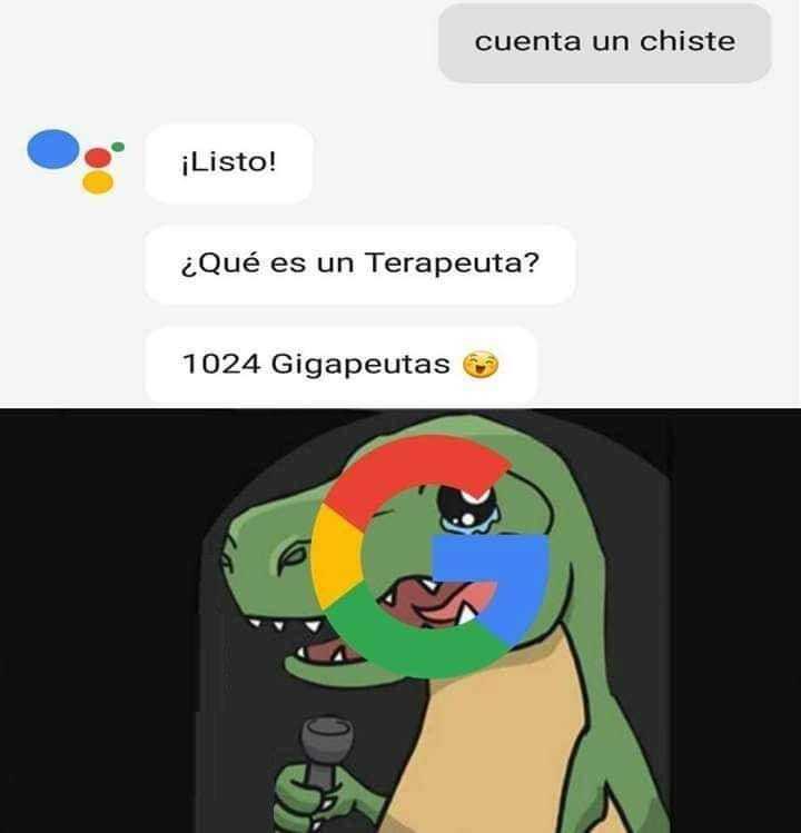 Asistente de Google - meme