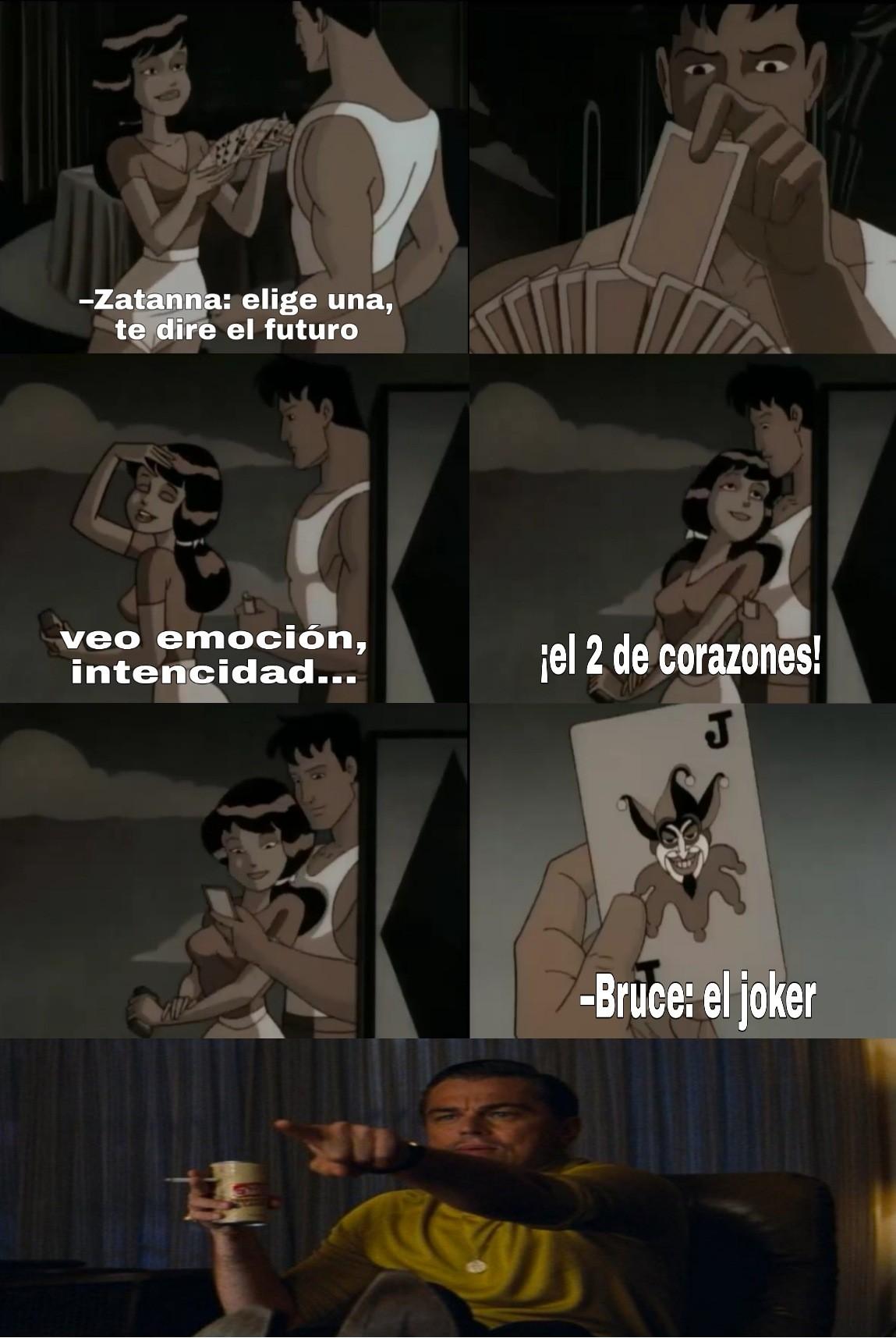 Episodio de la serie animada de batman - meme