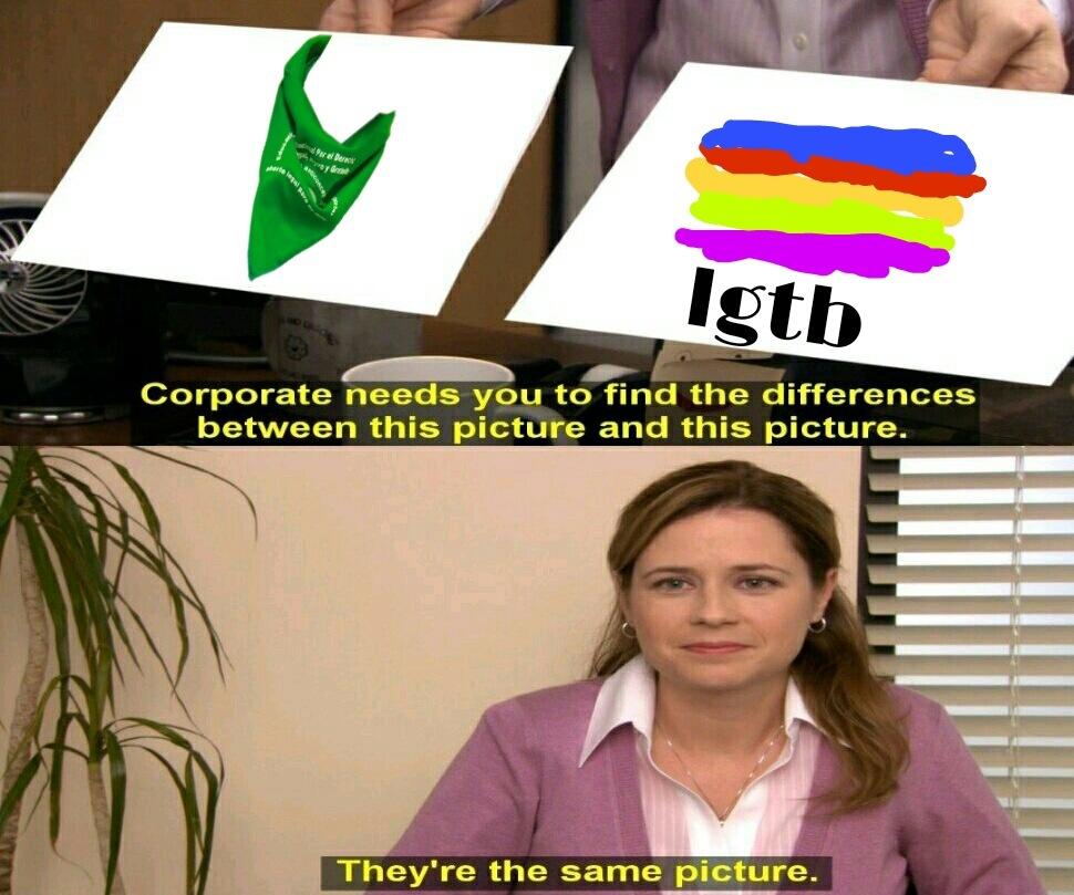 Puro ardido en esas weas - meme