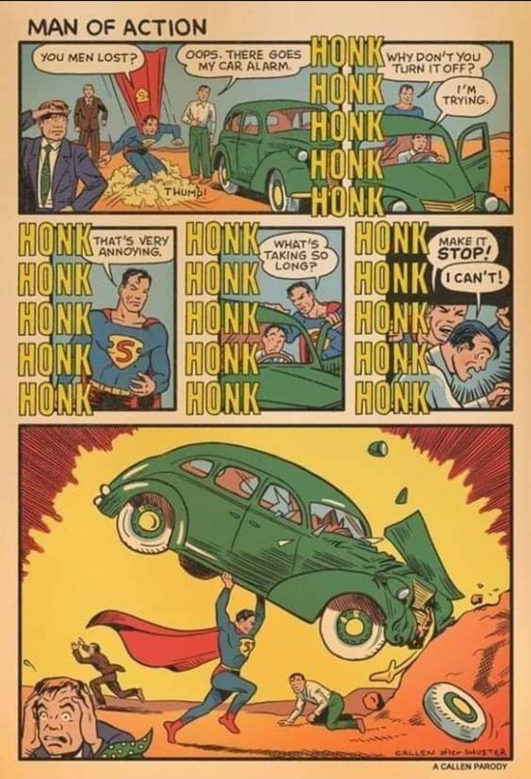 Stop annoying superman - meme