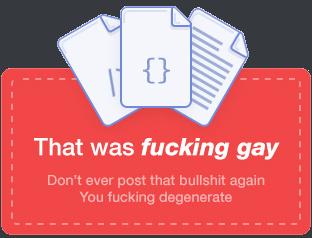 That was fucking gay - meme