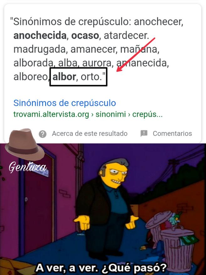 Albor-orto , Este google... - meme