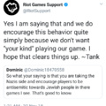 Riot Games Twitter is racist af