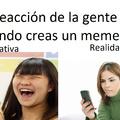 Las reacciones