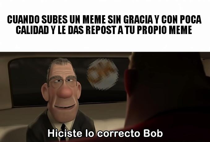 Lo correcto - meme
