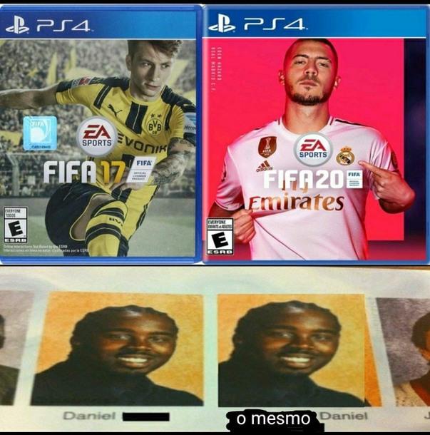 Jogadores de fifa vao hatear - meme
