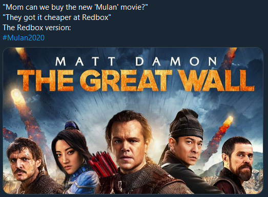 Atleast Matt Damon doesn't support the HK Police - meme