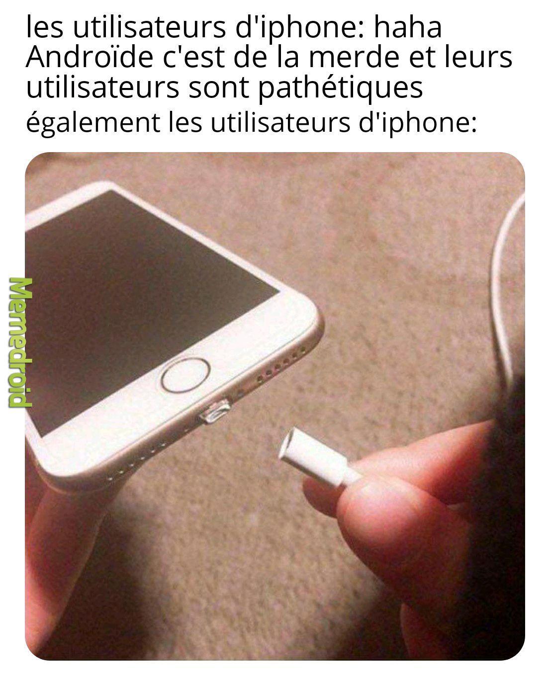Les iphone - meme