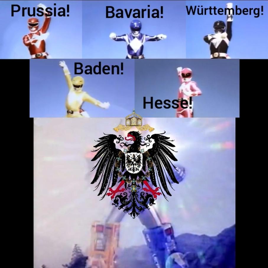 German POWER - meme