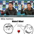 Ronaldo e la Coca cola