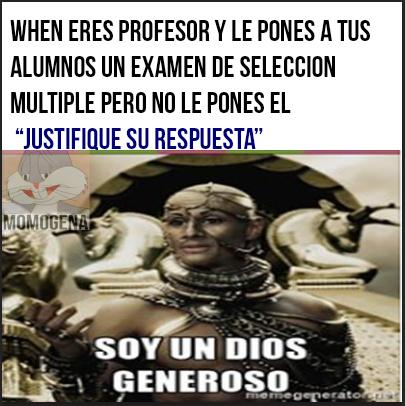 dios generoso xd - meme