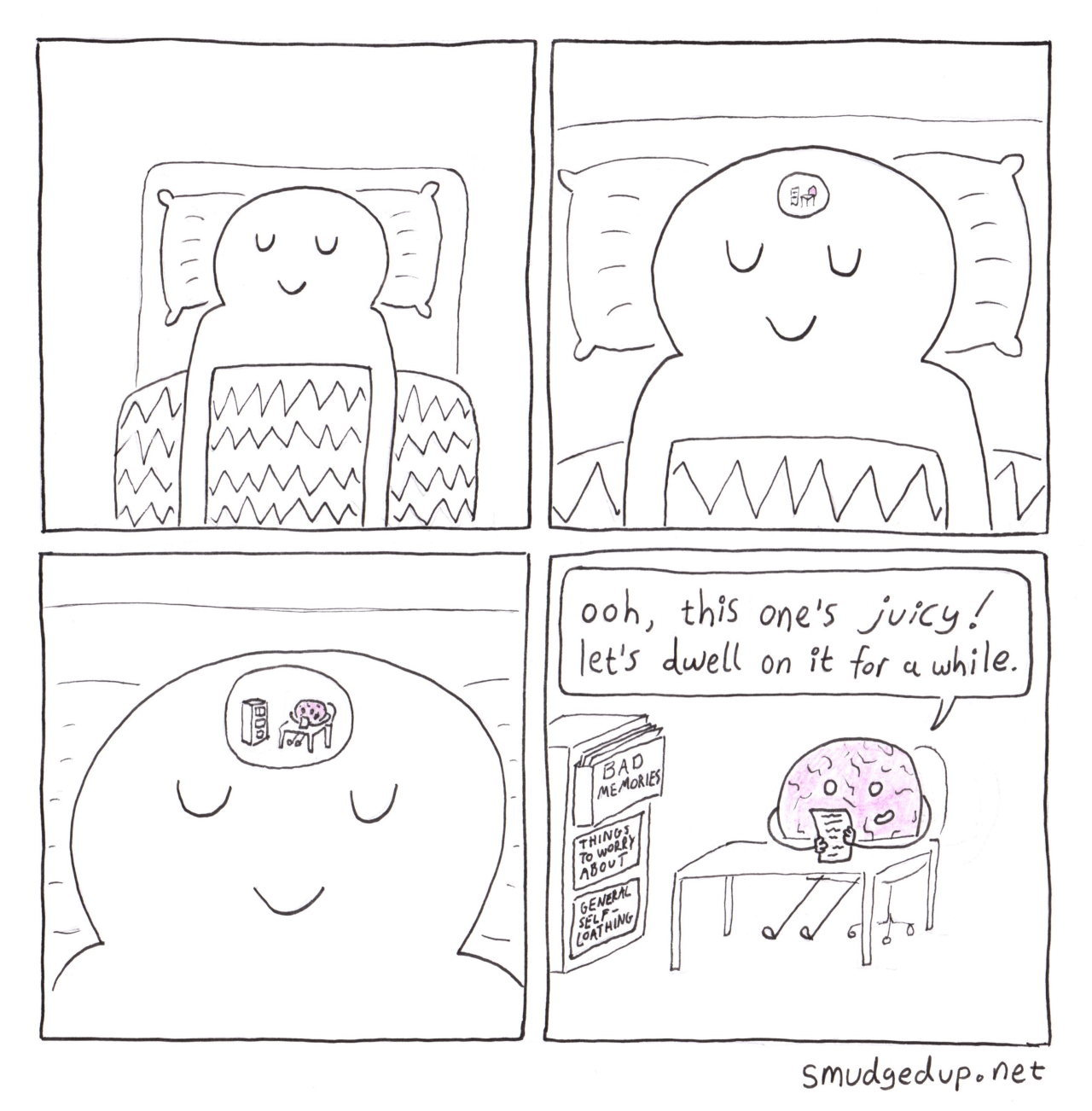 Now I can't sleep - meme