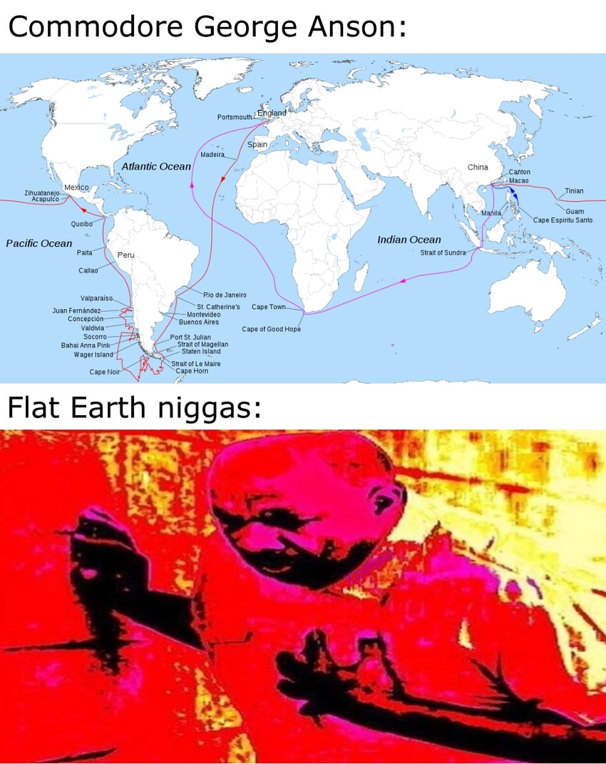 Earth is a cube - meme