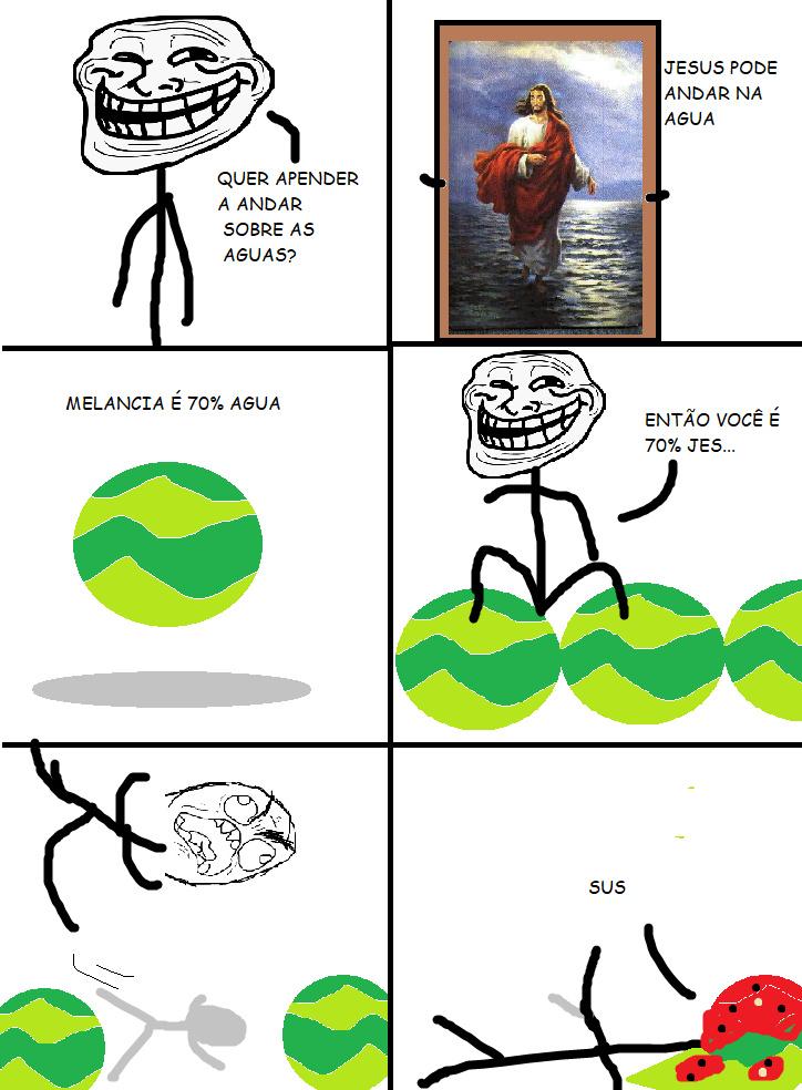 eu amo melancia - meme