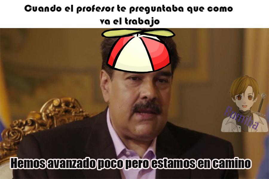 Son palabras textuales de Maduro en la entrevista de la sexta - meme