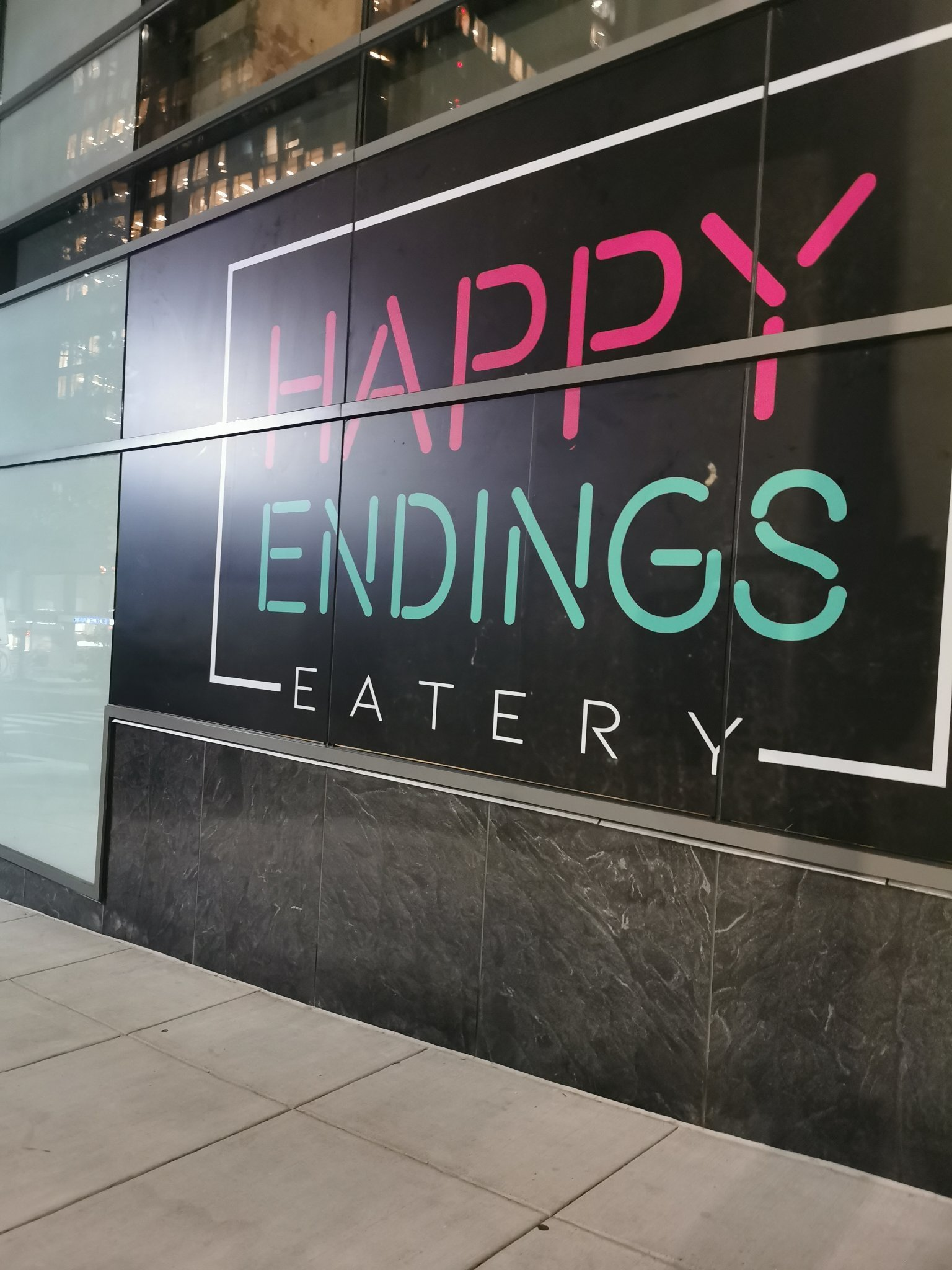 Happy Endings Eatery in Virginia - meme