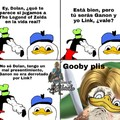 Gooby plis de Zelda
