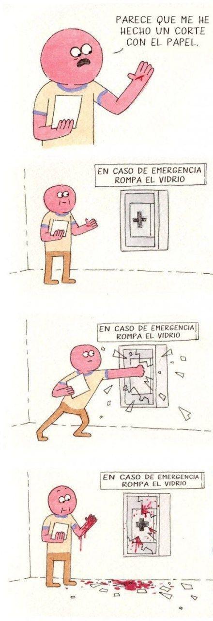 Vidrio - meme