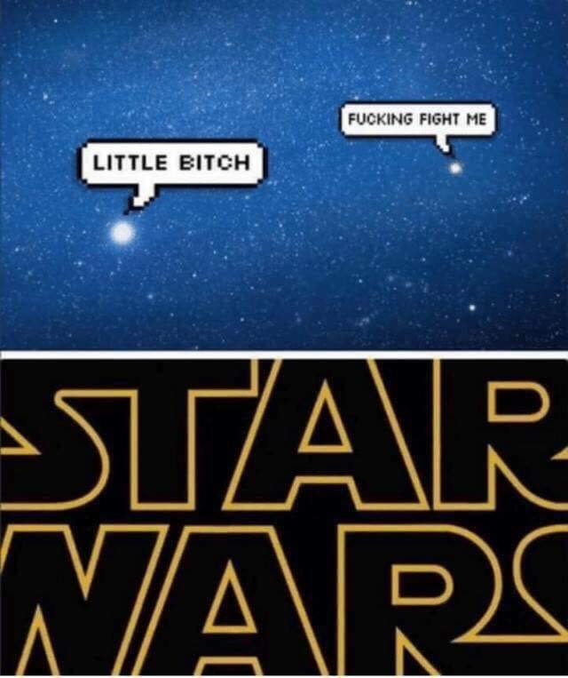 Star wars littéralement - meme