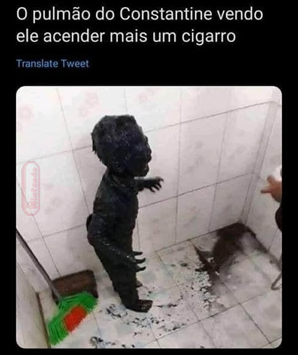 Cigarrinho do pepeta - meme