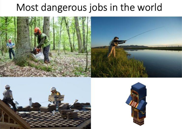 RIP Wandering Trader - meme