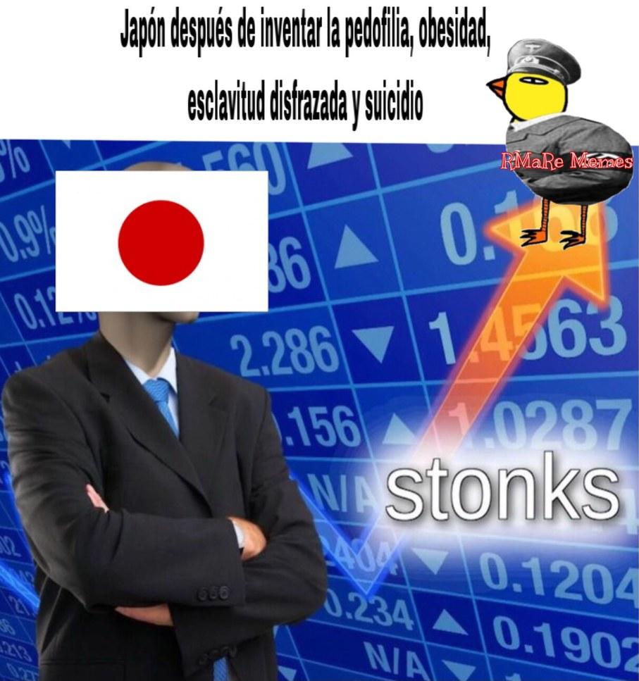 Japón es una cagada - meme