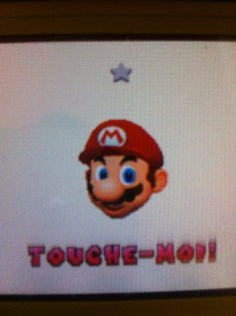 Calme toi Mario - meme