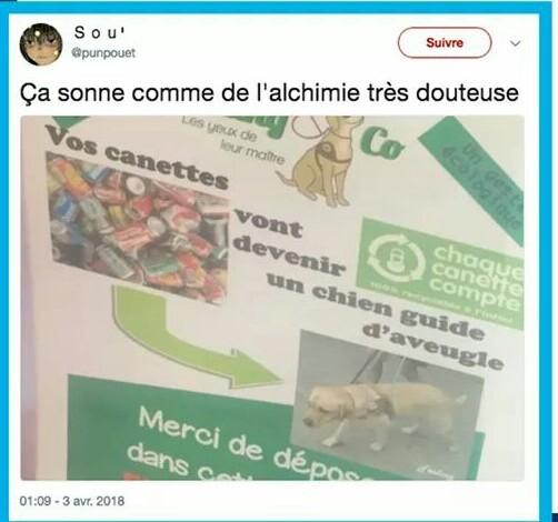 Les nouvelles technique de recyclage font des miracles - meme