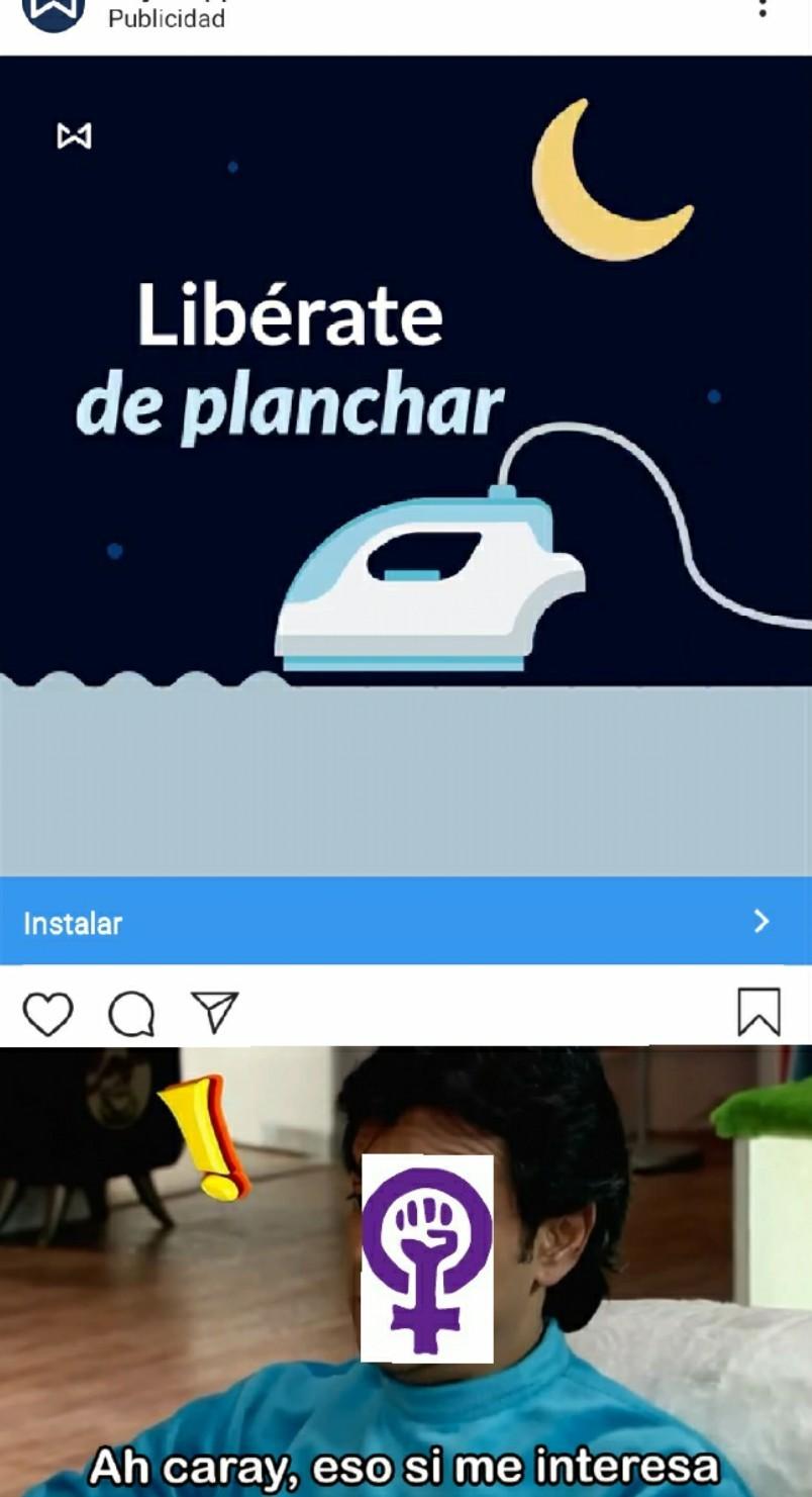 anuncio random en Instagram - meme