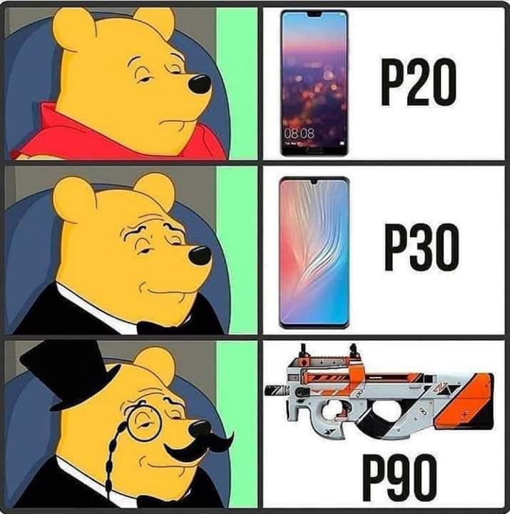 Rushea P90 manito - meme