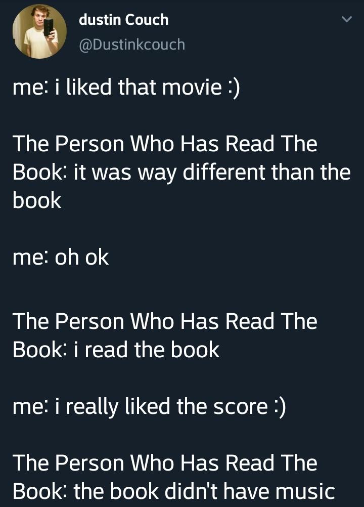 Not like the movie - meme