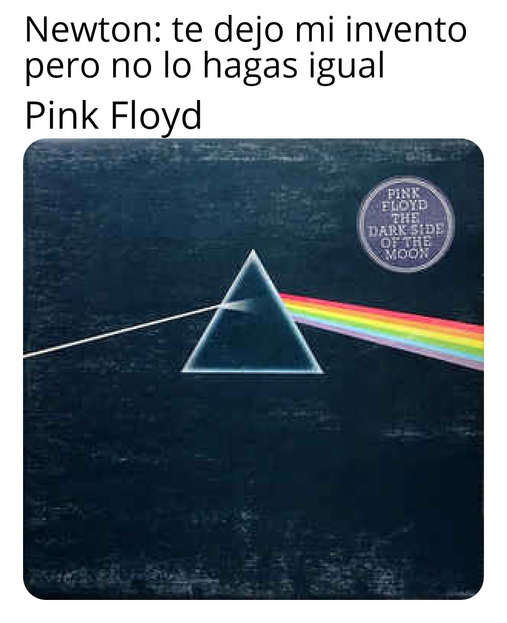 The dark side of the moon - meme
