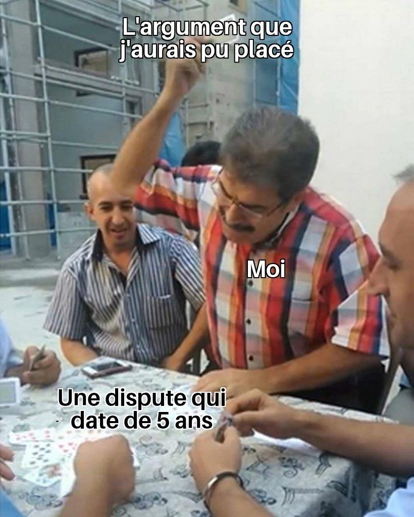 La date importe peu - meme