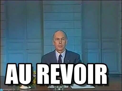 Au-revoir Valéry Giscard d'Estaing - meme