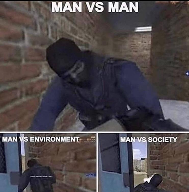 DOOR STUCK - meme