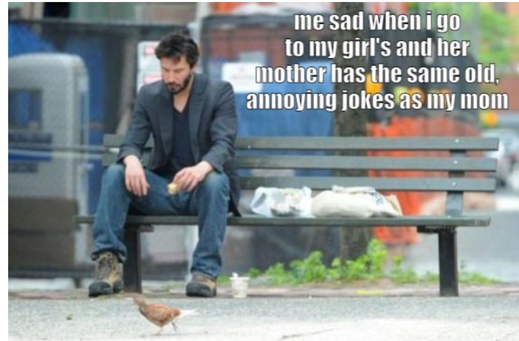 same old jokes - meme