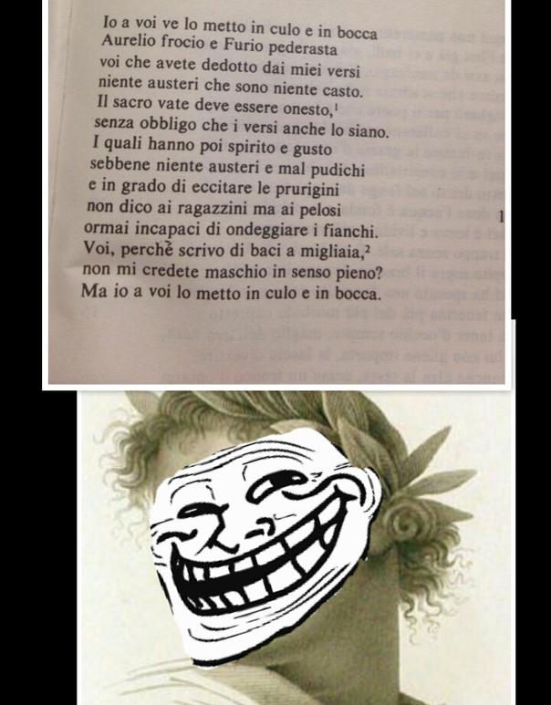 Dal latino - meme