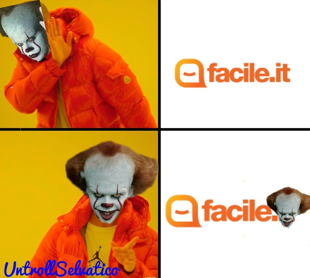 Finalmente mi è venuto in mente un nuovo meme