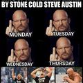 Stone Cold is the goat not bork lazer