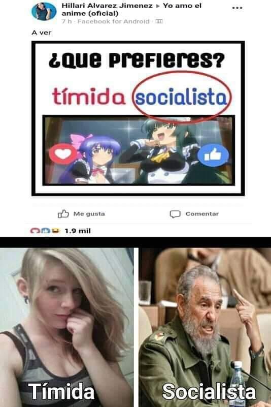 Otako o socialista? - meme