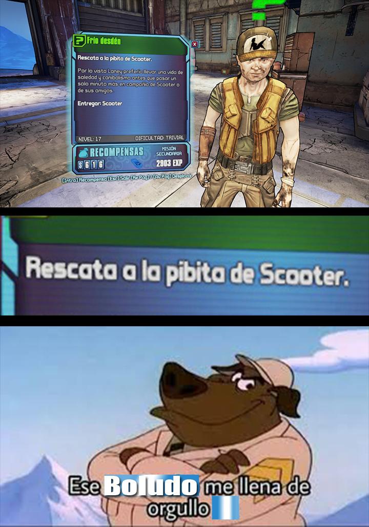 Después de Jugar Borderlands 2 - meme